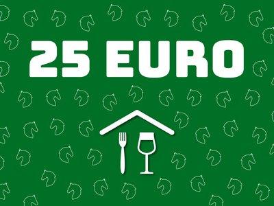 Horecabon van 25 euro